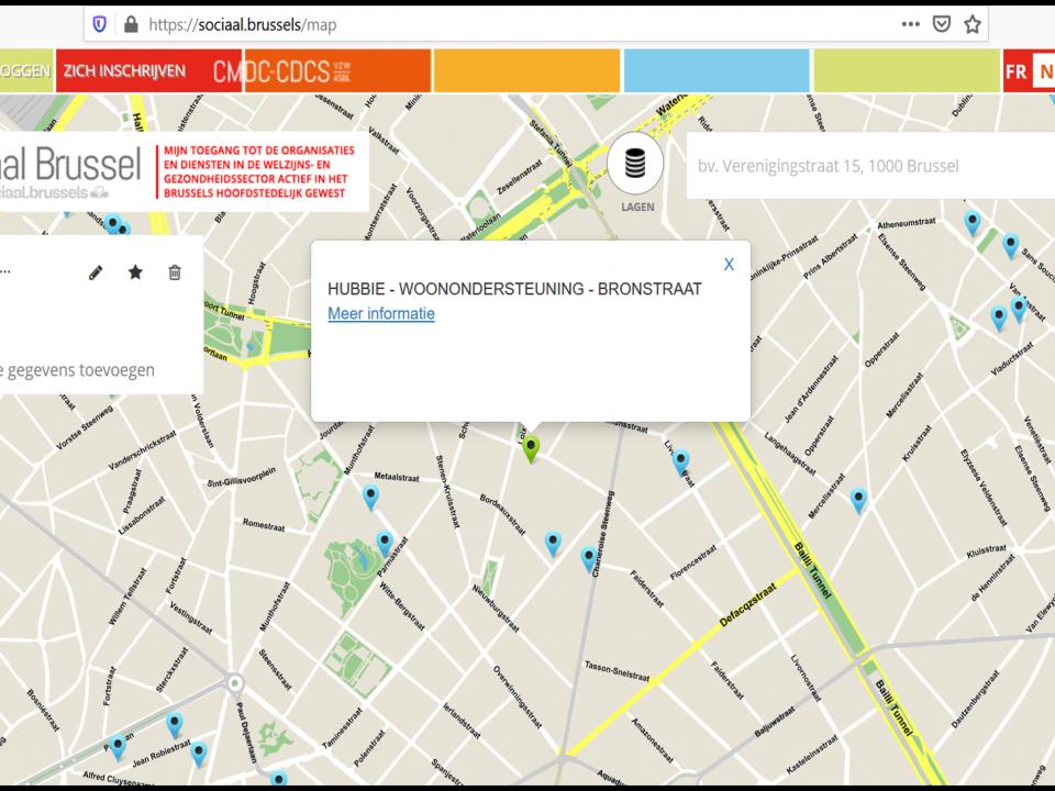 sociale kaart