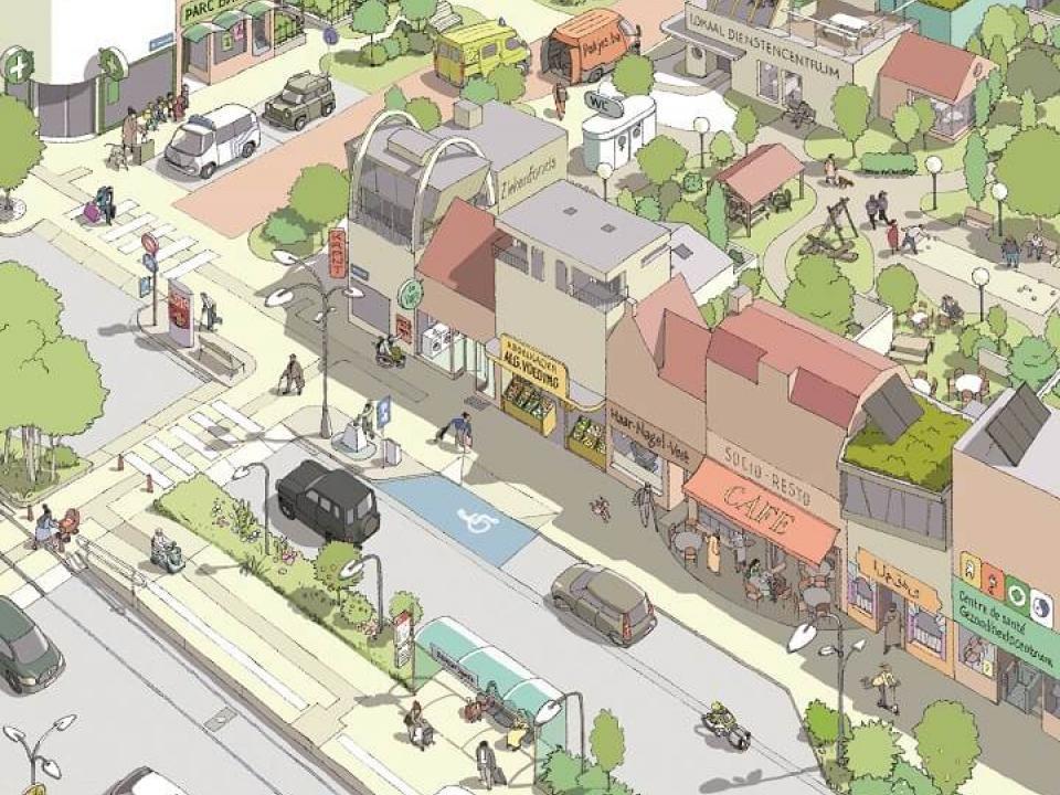 een ideale wijk