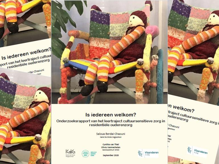 cover rapport is iedereen welkom